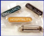 BAR BADGES with your own wording